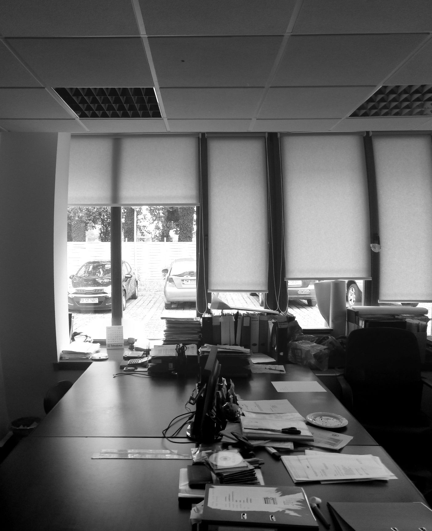 Office Pinhole Location bw
