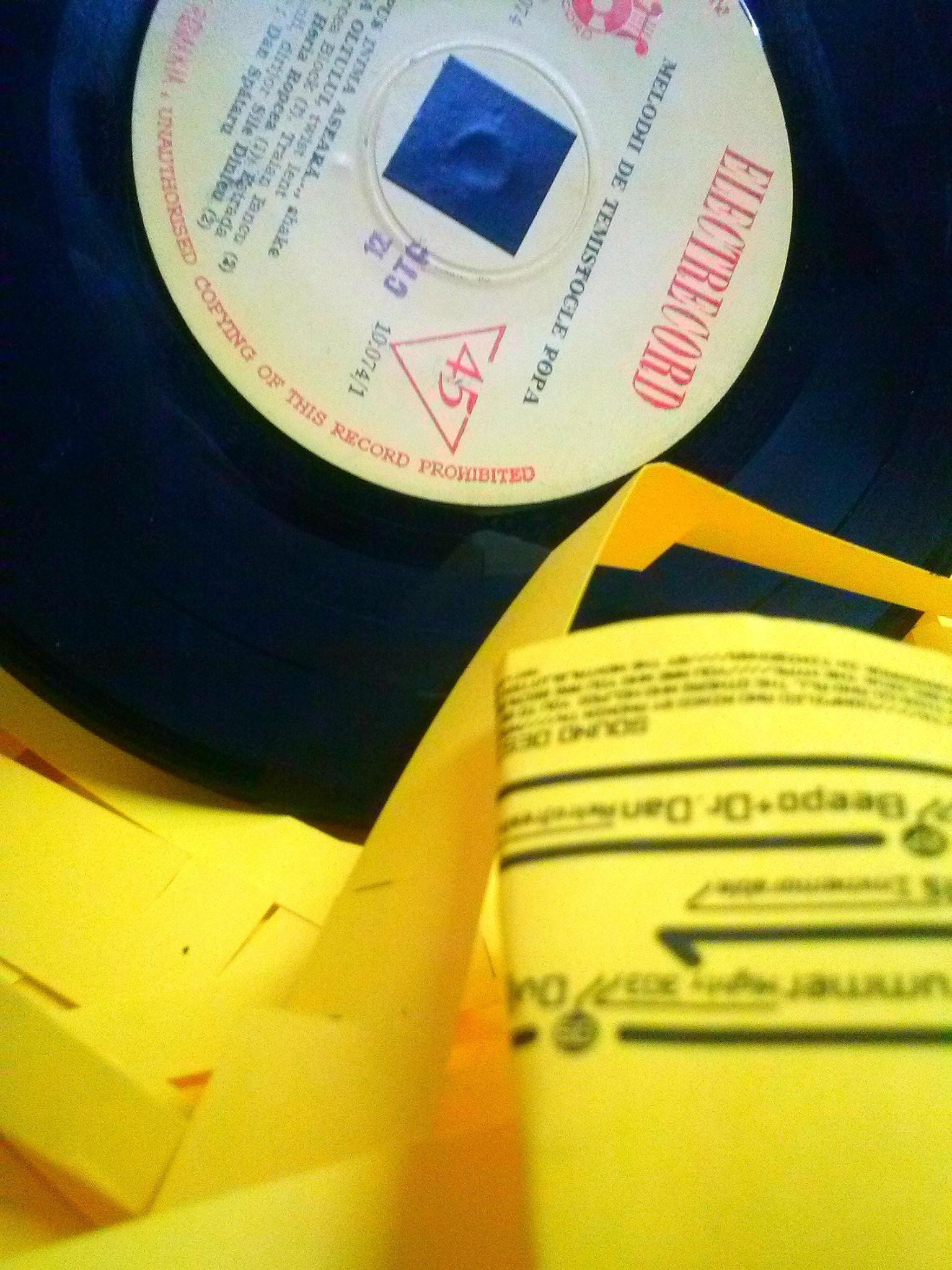 7 inch pinhole record
