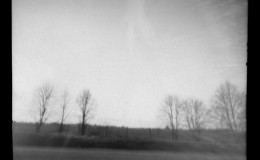 pinhole on the road
